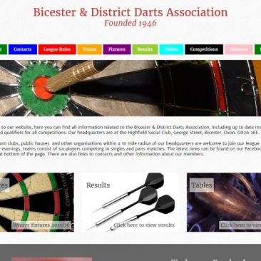 Bicester & District Darts Association